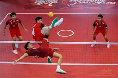 ASEAN School Games- Sepak Takraw (REVIT PHOTO'S) Tags: sepak takraw sepakraga sport aseanschoolgames asean footvolleyball stunt laos