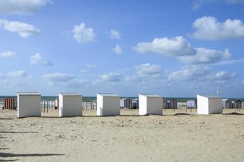 Beach huts, De Panne, Belgium