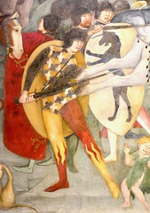 Urbino 2017 – Oratorio di San Giovanni Battista – Fire pants (Michiel2005) Tags: soldier fresco soldaat pants broek schilderij painting art kunst salimbeni oratoriodisangiovannibattista oratoryofstjohnthebaptist urbino italy italia italië marche marken demarken pesaroeurbino