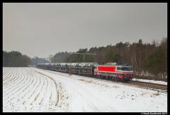 Captrain 1618, Holten 12-02-2017 (Henk Zwoferink) Tags: holten overijssel nederland nl henk zwoferink 1600 alstom rijssen captrain raillogix rfo gefco psa 1618