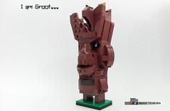 I AM.... Groot (hrtx) Tags: lego moc comunidade0937 afol marvel groot brickhead
