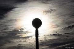 Eclipse de lampadaire (Azezjne (Az photos)) Tags: canon 75300 50 stm 600d berck sur mer bercksurmer cote côte dopale bromance plage sable bokeh zoom coucher soleil sunset beach sand eclipse dune mouette animaux animalière flou 75 300