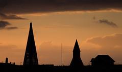 Midnight sun (Einar Angelsen) Tags: midnightsun norway norge nordnorge røst lands graveyard