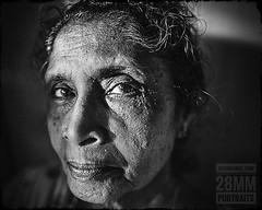 28mm Portrait #1 (28mmportraits) Tags: people portrait monochrome black white woman face 28mm nikon wide angle joshidaniel trivandrum kerala india 28mmportraits 1