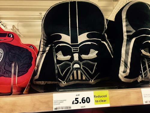 Darth Vader, reduced to clear