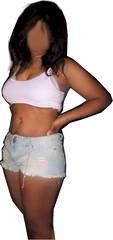 Hot or Not? (bronzedcpl) Tags: shortshorts shortieshorts shorts midriff sexy boobs luscious tanned tanktop
