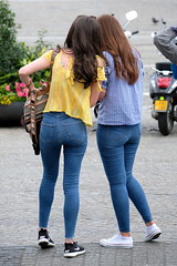 Two in Tight Jeans 1 (booster_again) Tags: jeans