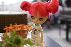 298/365 salad or sweet potato fries?