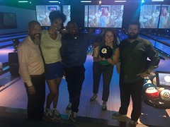 Night of Bowling (divisiononemarketing) Tags: divisiononemarketing california bowling culture teambonding