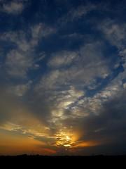 img_22x (gzammarchi) Tags: italia paesaggio natura pianura campagna ravenna villanovadiravenna tramonto nuvola riflesso