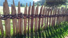 Everyday art (aniko e) Tags: trodena fence hff altoadige südtirol italien italy happyfencefriday truden