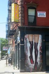 205 Club (edenpictures) Tags: mural streetart legs stilletos gum graffiti sign 205christiestreet stantonstreet stockings highheels christiestreet lowereastside manhattan newyorkcity nyc