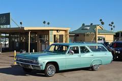 Bomb Club SoCal Summer Blast Car Show 2017 (USautos98) Tags: 1965 chevrolet chevy wagon lowrider