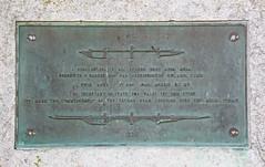 Britannia Bridge Plaque (Bad Wolf Babe) Tags: lindajenkins britanniabridge bridge plaque