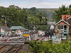 A Recent trip to the North Yorkshire Moors Railway (penlea1954) Tags: nymr preserved line north east yorkshire moors railway pickering steam railways england uk grosmont goathland