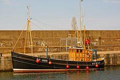 B.F.430. (artanglerPD) Tags: beautiful old boat macduff harbour bf 430