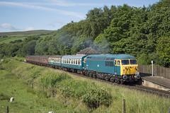 56006 1G51 (MitchellTurnbull) Tags: class 56 56006 irwell vale elr east lanashire railway summer diesel gala 7th july 2017 nikon d3200 rail photography sun sunshine lineside camera