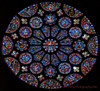 Chartres South Rose detail (Jeff Parry Photography) Tags: arthistory cathedral chartres france frenchgothic gothic window architechture rosewindow stainedglass