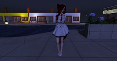 Walking around (Lemina Milev) Tags: firestorm secondlife white coat tail ears red selfie secondlife:region=aladonaisland secondlife:parcel=mexicoalmundo secondlife:x=92 secondlife:y=220 secondlife:z=21
