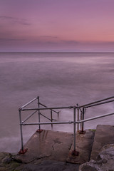 Fontygary Steps (Welsh Photographer) Tags: steps water longexposure wales welsh uk landscape seascape beautiful goldenhour pentax k3ii da 1650mm colour color vale glamorgan valeofglamorgan heritage coast sea ocean fontygary