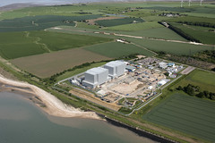 Bradwell Magnox nuclear power station - partially decommissioned (John D F) Tags: bradwell waterside powerstation magnox aerial essex coast coastal coastline aerialphotography aerialimage aerialphotograph aerialimagesuk aerialview viewfromplane britainfromtheair britainfromabove highdefinition highresolution hirez hires hidef