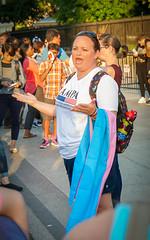 2017.07.26 Protest Trans Military Ban, White House, Washington DC USA 7648