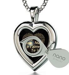 I Love You Necklace in 120 Languages Inscribed on Black CZ (globalepro) Tags: 18 black blackcubiczirconia blackcz cubiczirconia cz gold heart heartpendant iloveyounecklace inscribed inscribedin24kgold necklace pendant silver sterlingsilver