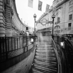 Piccadilly Circus through a pinhole by alexpurcell804 -