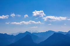 Blue Mountains (CoolMcFlash) Tags: blue mountains nature landscape mountain cloud sky summer austria canon eos 60d alps blau gebirge natur landschaft view aussicht wolke himmel weather wetter sommer österreich fotografie photography tamron b008 18270 upper oberösterreich