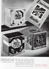 1936-37 Mickey Mouse Merchandise 04 (Tom Simpson) Tags: 1936 1937 1930s vintage disney mickeymouse radio