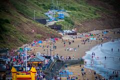low beach (pamelaadam) Tags: thebiggestgroup fotolog digital summer august 2016 holiday2016 people lurkation sea filey engerlandshire