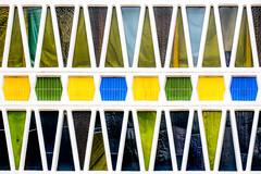Facade III (ToDoe) Tags: fassade facade fifties 50er patterns pattern muster glass windows köln gereon gereonswall schule