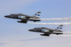 HW-334 (Ian.Older) Tags: bae hawk mk51 finland midnight hawks dispay team fairford riat air force jet training trainer military aviation finnish kauhava