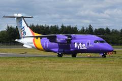 G-CCGS Dornier Do328-100 EGPH 14-07-17 (MarkP51) Tags: gccgs dornier do328100 flybe be bee loganair edinburgh airport edi egph scotland aviation airliner aircraft airplane plane image markp51 nikon d7200 aviationphotography