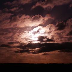 Cloudy night on North Head, Devonport, New Zealand (mrswebbs) Tags: clouds devonport newzealand