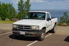 1997 Mazda B-2300 SE Pick-Up (DVS1mn) Tags: lake north shore northshore superior lakesuperior mn minnesota 1997 mazda b2300 se pickup