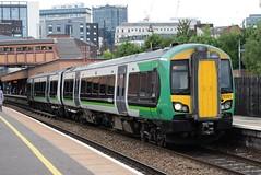 LM 172221 @ Birmingham Moor Street (ianjpoole) Tags: london midland class 172 turbostar 172221 working 2s72 kidderminster whitlocks end