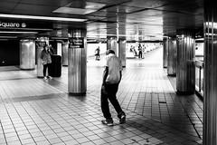 I love NY (Paolo Luppino 73) Tags: ny newyork travel people street urban jungle humans city subway blackandwhite biancoenero 35mm noir clochard homeless