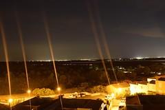 Night in Saint Pierre la Mer (Tanja-Milfoil) Tags: lights lichtshow lichter himmel sterne nacht nachtaufnahme europa europe visit holidays shots picture aufnahme bilder saintpierrelamer night milfoil tanja southoffrance france frankreich nikon