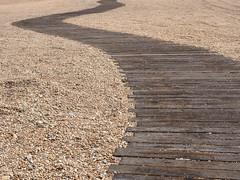 Folkestone Boardwalk (only lines) Tags: folkestone beach boardwalk curve kent uk