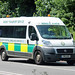 South Central Ambulance YN11 ADX, Fiat Ducato on Crickley Hill