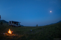 25 al Lazzarà-1 ( YariGhidone ) Tags: rosso adventure van vanlife life love nature camper outdoor dog barbecue bbq mountains night stars moon landscape