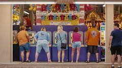 Whac-a-mole (Tom Bolles) Tags: streetphotography arcade boardwalk beach nikkor gh5