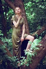 Kinga (lucrecia lee) Tags: beauty beautiful blonde longhair woman wavyhair youngwoman portrait pretty sensual stylish subtle seductive sexy sitting tree park green face fulllips fashion girl gorgeous graceful glamour glamorous gown elegant eyes ephemeral dreamy daydreaming delicate dress