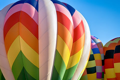 Bursting With Color (matthewkaz) Tags: hotairballoon hotairballoons balloon balloons michiganchallenge balloonfest howell michigan 2016