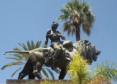 Włochy - Sycylia (tomek034 (Thank you for the 1 400 000 visits)) Tags: włochy sycylia palermo rzeźba lew