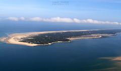 La presqu'île du Cap Ferret vue du ciel ... Un petit coin de Paradis ! (Clement Philippon) Tags: cap ferret bassin arcachon