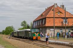 Besuch bei der Schrodaer Kreisbahn -V- by ТУ4 - ... angekommen am Endpunkt Zaniemysl