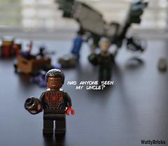 Miles Morales (WattyBricks) Tags: lego marvel comics superheroes spiderman homecoming miles morales vulture adrian toomes minifigures