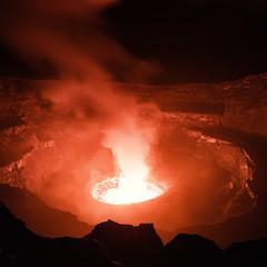 Virunga (davе) Tags: democraticrepublicofcongo drc volcano nyiragongo crater lava fire smoke red goma kibati kivu virunga night congo sonya7